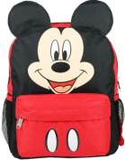 Small Backpack - Disney - Mickey Mouse Face/Ears New School Bag 628680