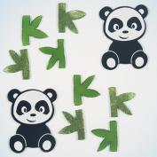 GelGems Playful Pandas Small Bag Gel Clings