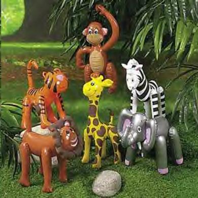 Inflatable Zoo Animals (12)