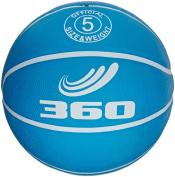 360 Athletics Playground Rubber Basketball, Size 5, Blue