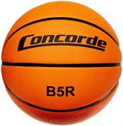 Concorde Rubber Game Basketball, Orange, Size 6