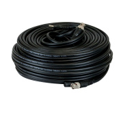 GW Security Premade 0.3m x 30m Siamese CCTV Coaxial Cable RG59 Combo Cable for Connecting HD-SDI Camera System with BNC Connector and 2.1mm Power Connector