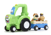 LITTLE TIKES FRANKLY FARMER TRACTOR HANDLE HAULERS