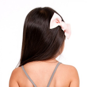 Go Gently Baby Organic Bow Barrette in Blush, Onesize