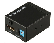 AoeYoo HDMI Extender / Booster - Amplified ACTIVE Repeater - v1.3 - Supports 1080p Full HD up to 35m