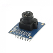 OV7670 640 x 480 VGA CMOS Supporting Image Scaling Lens Camera Module