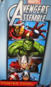 New Marvel Avengers assemble cotton towel beach bath towel iron man , hulk, captain america, Thor childrens boys 100% official item great gift ideas