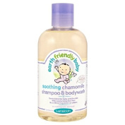 Earth Friendly Baby Soothing Chamomile Organic Shampoo & Bodywash 250ml
