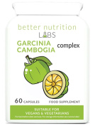 Garcinia Cambogia Complex Fat Burning diet pill by Better Nutrition Labs - 60 Capsules