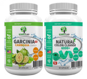 SUPERPACK! - Garcinia Cambogia Complex + Detox colon cleanse 6000+. The US original by Scientylabs with Garcinia Cambogia multi-complex + the currently strongest SL colon cleanser