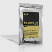 Flaxseed Oil Capsules 1000mg 90 Softgels - High Strength Cold Pressed