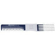 COMARE Hairdressing/professional double end gripper comb with metal lifters - 352