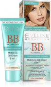 Eveline Mattifying BB Cream 8 In 1 Light Complexion