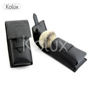 KOLUX LEATHER SHAVING BRUSH CASE / COVER BEST FOR TRAVELLING