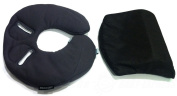 MAXI COSI PEBBLE HEAD HUGGER AND WEDGE BACK SUPPORT