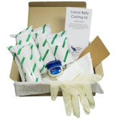 Luxury Belly Casting Kit - Everything you need to easily and safely create a beautiful full size 3D plaster replica of your pregnancy belly.