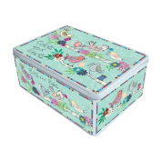 Extra Large Odds and Ends Keepsake Tin - Birds Design