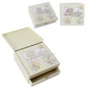 Laura Darrington Baby Shower Keepsake Box and Photo Album Gift Set
