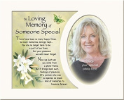 In Loving Memory Of Someone Special Memory Mount With Verse For A 25cm x 20cm Frame