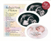 Memory Mounts Baby's First Photos Gift For A Photo Frame 25cm x 20cm