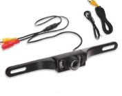 BW® Licence Plate Waterproof Car Rear View Camera Night Vision CMOS 135 Degree