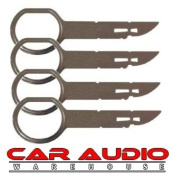 T1 Audio T1-132 x 4 Keys - VW / Ford / Audi / Mercedes Car Stereo Radio Removel Keys