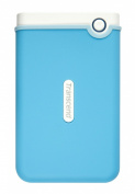 Transcend 6.4cm 1TB USB 3.0 Military Grade Shock Resistance Portable External Hard Drive - Blue