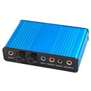 WMA USB 6 Channel 5.1 External Audio Sound Card S/PDIF