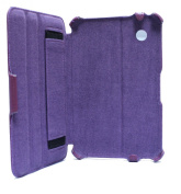Navitech Multi Stand Purple Bycast Leather Case For The Samsung Galaxy Tab 2 7.0 P3100