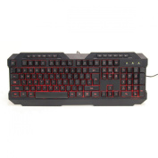 Powercool KB-768 V2 LED USB Gaming Keyboard Green/Red/Blue Backlit M/M Functions