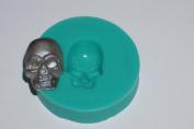 kbksiliconemoulds. Sugarcraft Silicone Rubber Moulds Cake Decorating Resin Moulds Crafts Icing Skull