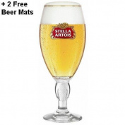Stella Artois Half Pint 300ml New Style Chalice Glass