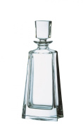 Bohemia Large 24 Percent Lead Crystal Boston Decanter, Transparent