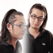 Black Metal Mens Soccer Sports Hair Head Band Headband