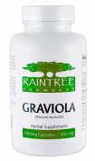 Raintree Graviola (Annona muricata) 100 Vegetarian Capsules 600mg