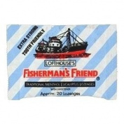 THREE PACKS of Fishermans Friend Extra Strong Sugar Free Lozenges