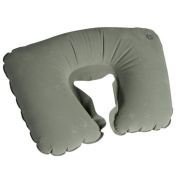 INFLATABLE TRAVEL NECK PILLOW PORTABLE NECK REST CUSHION SUPPORT COMFORTABLE NEW