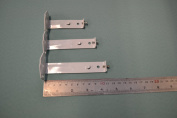 Pack of 2 Slimline Face Fix Brackets (Small 71mm