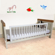 Safetots Wooden Bed Guard White