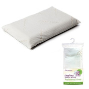 Clevamama Clevafoam Toddler Pillow and Replacement Cover