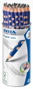 Lyra Groove Slim 1763480 Pencils Graphite B in Round Plastic Pot 48 Pencils