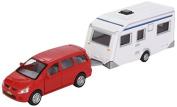 Van Manen 521506 Toy Car with Separate Caravan 3 Designs
