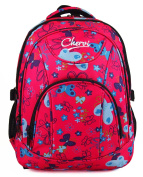 High Quality Small Large Womens Girls Butterfly Hearts Chervi College School Backpack Hand Luggage Bag