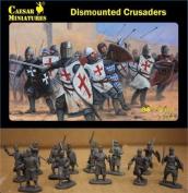 Caesar Miniatures 1/72 Dismounted Crusaders # 086