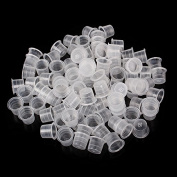 18mm Large Size Ink Cups Disposable Plastic Caps for Tattoo Art