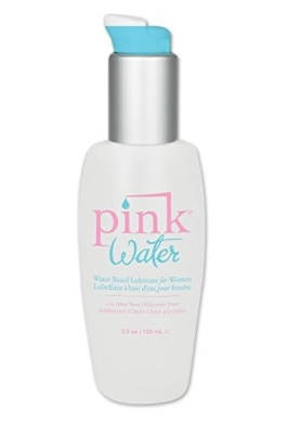 Pink Water Based Personal Lubricant for Women Purified Water Formulated Long Lasting: Size 3.3 Oz. /100 Ml