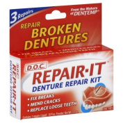 Dentemp (D.o.c) Emergency Denture Repair Kits