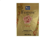 Yoko Feminine Soap Vaginal Cleansing Revitalising Herbal plus Vitamin E 80g