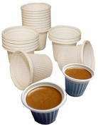 Mini disposable Cuban and espresso coffee cups 90ml Pack of 250