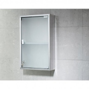 Gedy Stainless Steel Cabinet with Mirror and 1 Shelf JO07-13